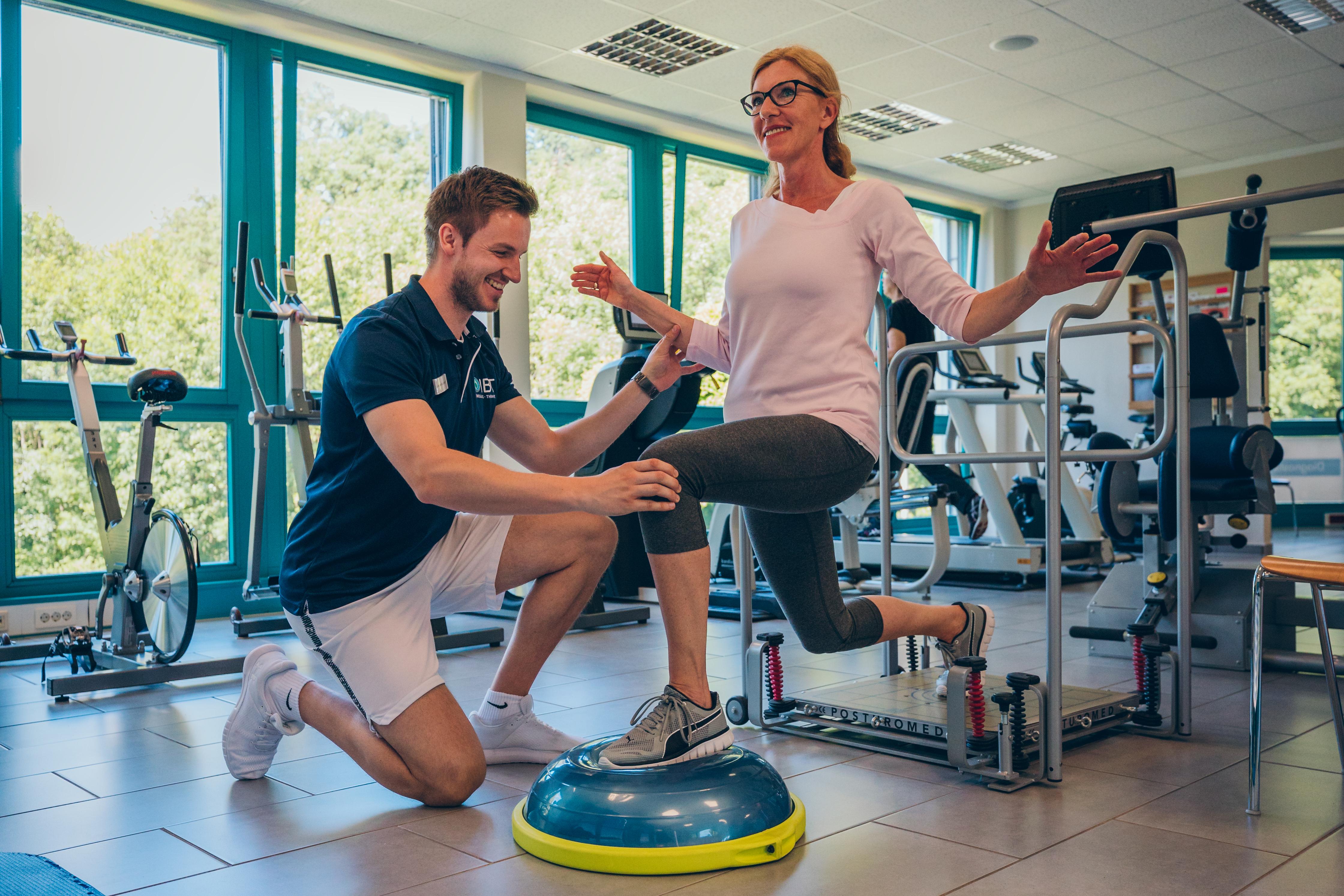 Sportphysiotherapie im IBT